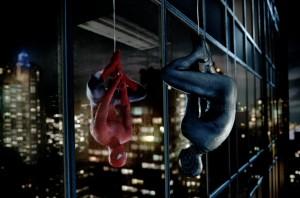 Spider-Man contemplates his darker self in Columbia Pictures' SPIDER-MAN 3.